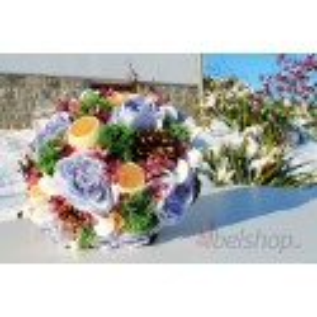 Svatební kytice Rustic styl