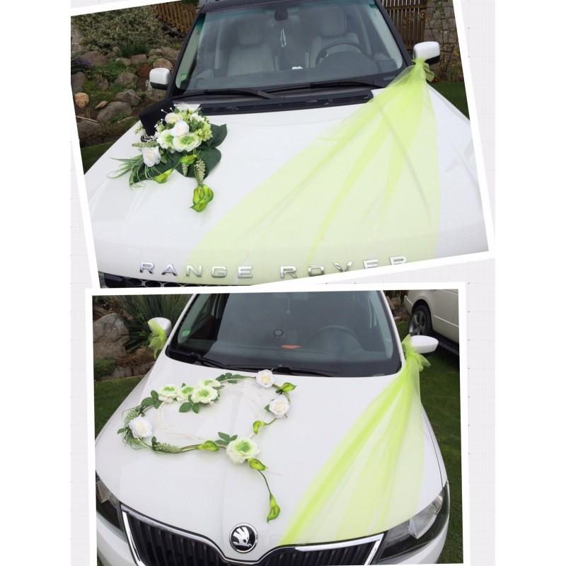 Set dekorací aut velký - zelená