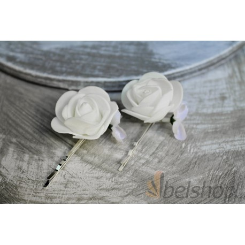 Květinová spona - pár