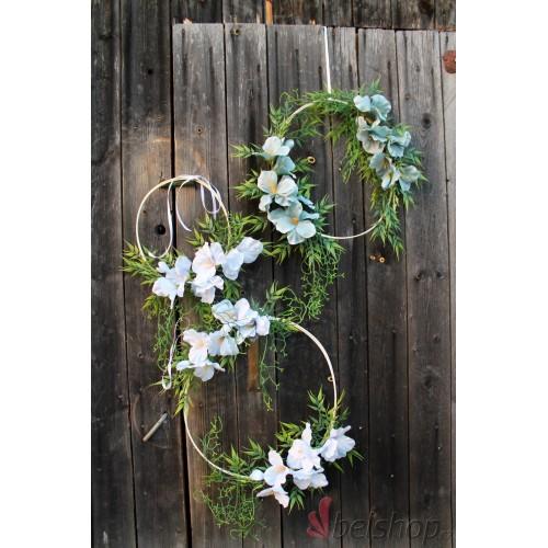 Květinová dekorace á Lapač snů (3ks)