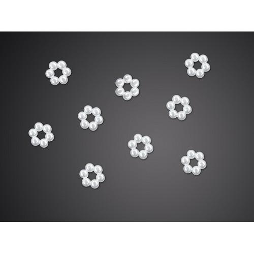 Brožičky - květinky (50 ks)
