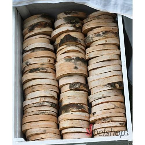 Dřevěná kolečka z břízy 8-10cm